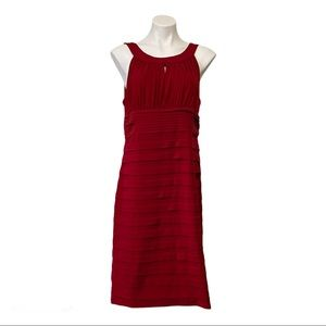 Ladies Red Special Occasion/ Party Dress Size 14